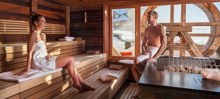 Sauna im Wellnesshotel Bayerischer Wald
